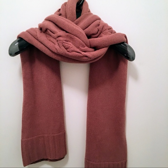 e98e969b8e Kenneth Cole Accessories - Kenneth Cole - Chunky Cable-Knit Cashmere Scarf